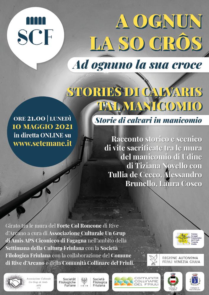 Un Grup di Amis e Tiziana Novello raccontano storie dal manicomio